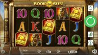 Book of Sun slots Slot Reels
