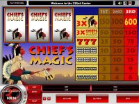 Chief's Magic slots Slot Reels
