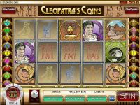 Cleopatra's Coin slots Info