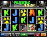 Dr.Frantic and the Lab of Loot slots Slot Reels