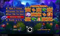 Fairytale Fortune slots Info