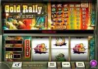 Gold Rally 1 Line slots Slot Reels