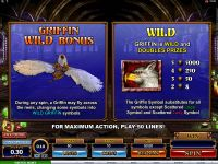 Great Griffin slots Bonus 1