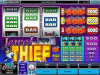 Jewel Thief slots Slot Reels