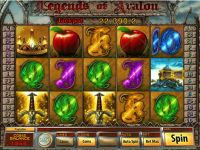 Legends of Avalon slots Slot Reels