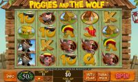 Piggies and the Wolf slots Slot Reels
