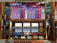 Red White and Win slots Slot Reels