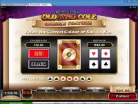 Rhyming Reels - Old King Cole slots Gamble Screen