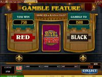 Royal Feast slots Gamble Screen