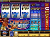 Sahara's Secret slots Slot Reels