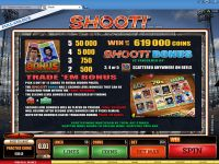 Shoot! slots Bonus 1