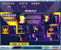 Silver City slots Info