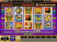 Treasure Nile slots Slot Reels