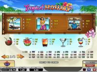 Tropical Holiday slots Info