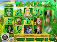 World of Oz slots Slot Reels