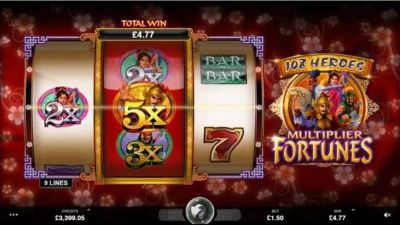 108 Heroes Multiplier Fortune slots Slot Reels