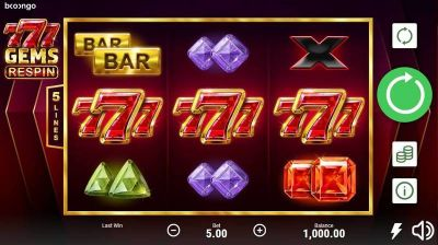 Spiele 777 Gems Respin - Video Slots Online