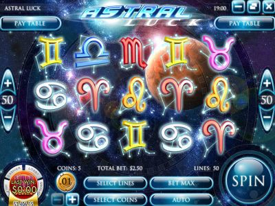 Astral Luck slots Slot Reels