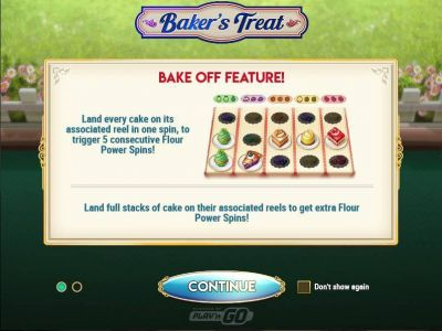 Baker's Treat slots Bonus 1