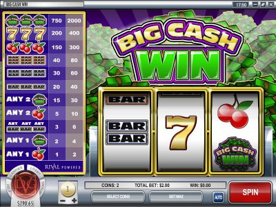 Big Cash Win slots Slot Reels