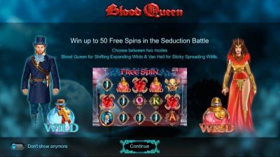 Blood Queen slots Info
