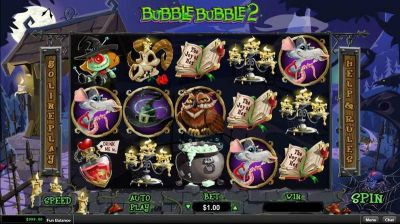 Bubble Bubble 2 slots Slot Reels