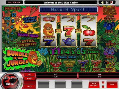 Bundle in the Jungle slots Bonus 1