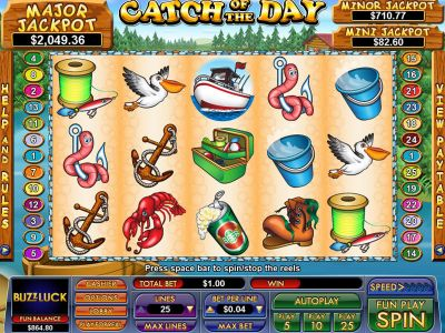 Catch Of The Day slots Slot Reels