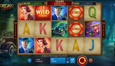 Chicago Gangsters slots Main