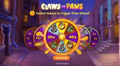 Claws vs Paws slots Wheel