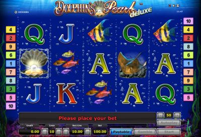 Dolphin's Pearl - Deluxe slots Slot Reels