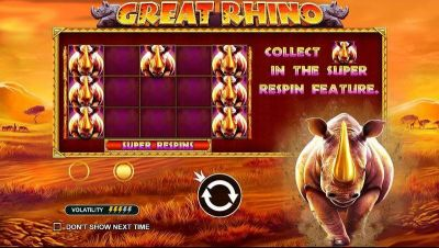 Great Rhino slots Info