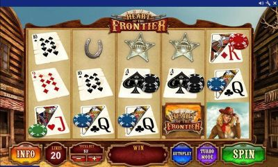 Heart of the Frontier slots Slot Reels
