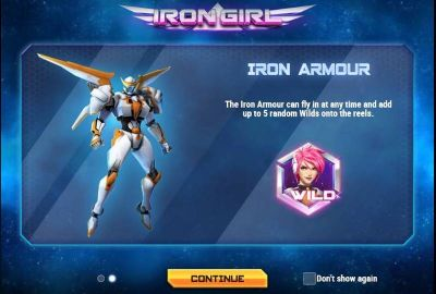 Iron Girl slots Bonus 1