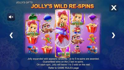 Jolly's Gifts slots Bonus 1