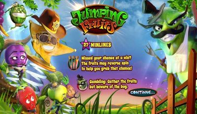 Jumping Fruits slots Info