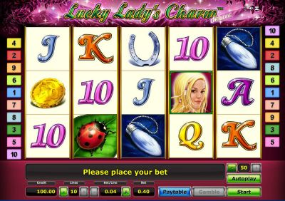 Lucky Lady's Charm - Deluxe slots Slot Reels