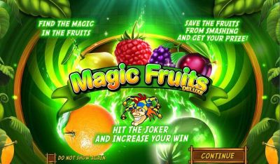 Magic Fruits Deluxe slots Info