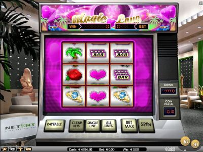 Magic Love slots Slot Reels