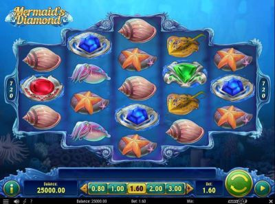 Mermaid's Diamonds slots Slot Reels