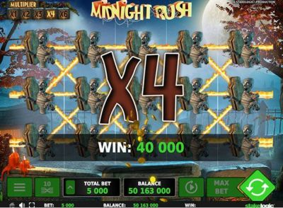 Midnight Rush slots Slot Reels