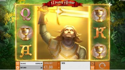 Mighty Arthur slots Bonus 1