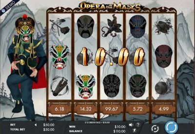 Opera of the Masks slots Main