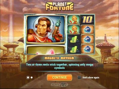 Planet Fortune slots Info