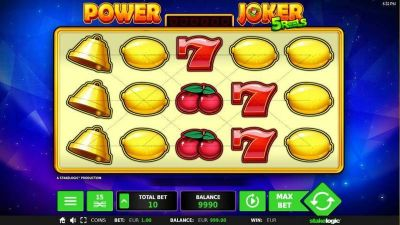 Power Joker slots Slot Reels