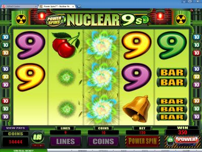 Power Spins - Nuclear 9's slots Bonus 1