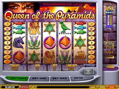 Queen of Pyramids slots Slot Reels
