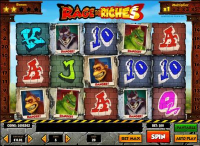 Rage to Riches slots Slot Reels