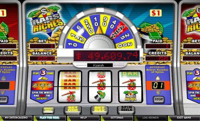 Rags to Riches 1 Line slots Slot Reels