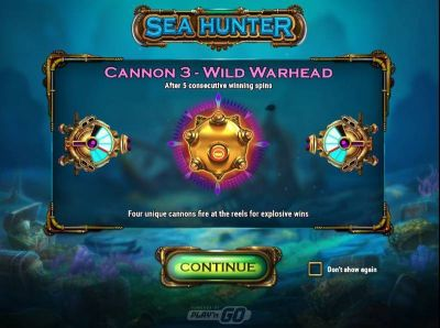 Sea Hunter slots Info